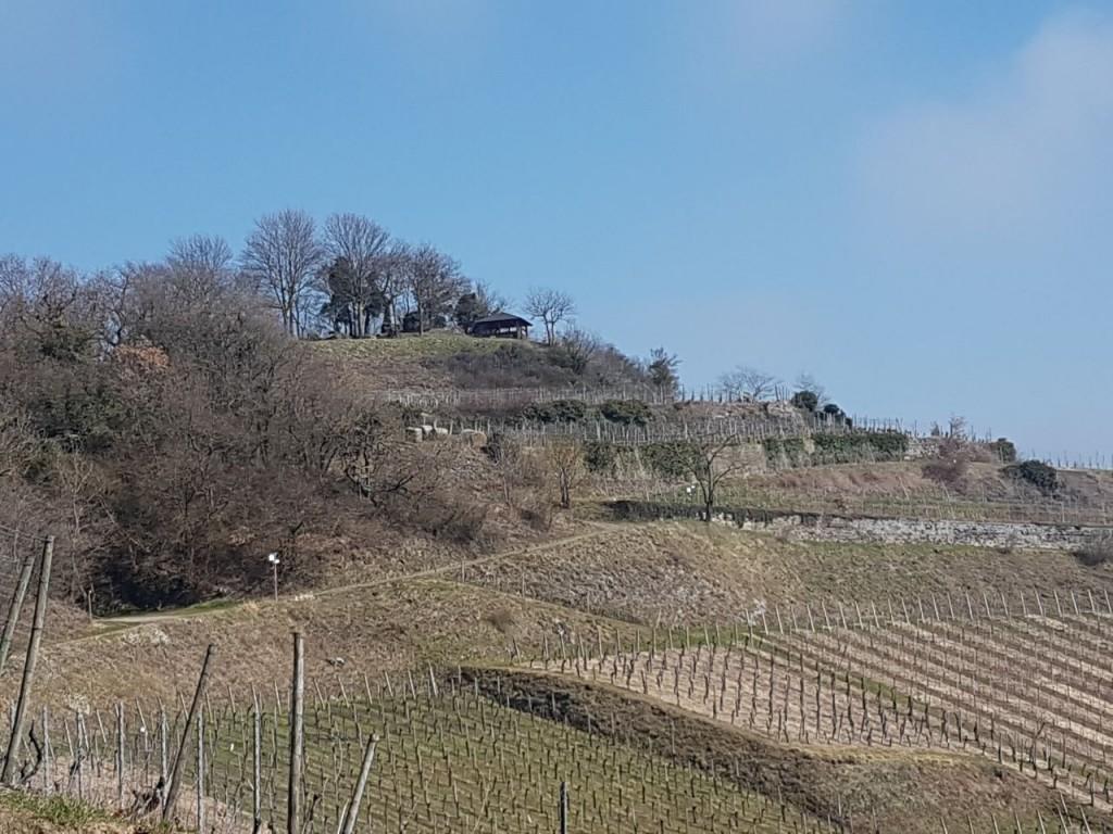 da oben steht das Schlossbergpavillon
