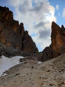 Scharte Langkofel und Plattkofel Trentino